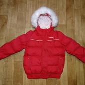 Зимняя , термо куртка Wedze р.122-133 ( 8 лет )