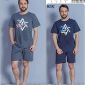 Комплекты Gazzaz для мужчин р, s, m, xl  футболка, шорты