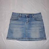 XS-S, поб 44-46, юбка джинсовая стрейч  очень стильная
