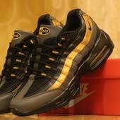 Кроссовки Nike 95 в золото