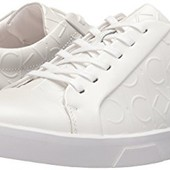 Белые кожаные кеды, прогулочные кроссовки Calvin Klein р. 44