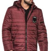 Мужская удлиненная деми куртка