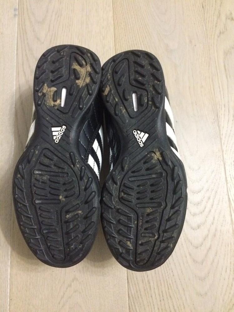 Бутси сороконожки (копочки, бутсы) adidas 31.5 р. стелька 19.5 см. оригінал фото №6