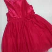 Нарядное платье H&M 2-4