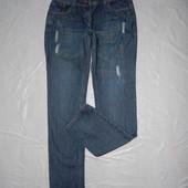 xl-xxl, поб 52-54, джинсы рванки бойфренды George узкие