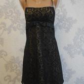 Нарядное гипюровое платье Lime в идеальном состоянии XL