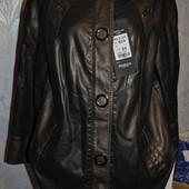 Стильная женская коричневая куртка Holdluck. 54р Новая!