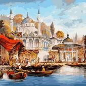 Картина по номерам turbo Стамбул Мечеть Ускюдар VP486