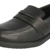 Кожаные школьные туфли Clarks 38, 38. 5, 39