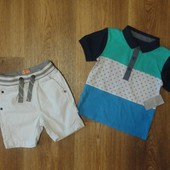 Комплект футболка и шорты на 1-2 года