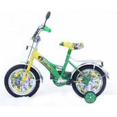 """Детский двухколесный велосипед Mustang - """"Мадагаскар"""" (12 дюймов)"""