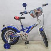 Велосипед двухколесный Поліцейський 14 T-21425 blue + white