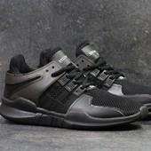 Кроссовки мужские сетка Adidas Equipment  ADV/91-17 black