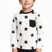 Реглан H&M Америка на мальчика Звезды