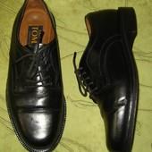 Туфли 41 р-р Luici Tomasi стелька - 27.5 полностью кожа. Удобные, качественные. 400 грн.