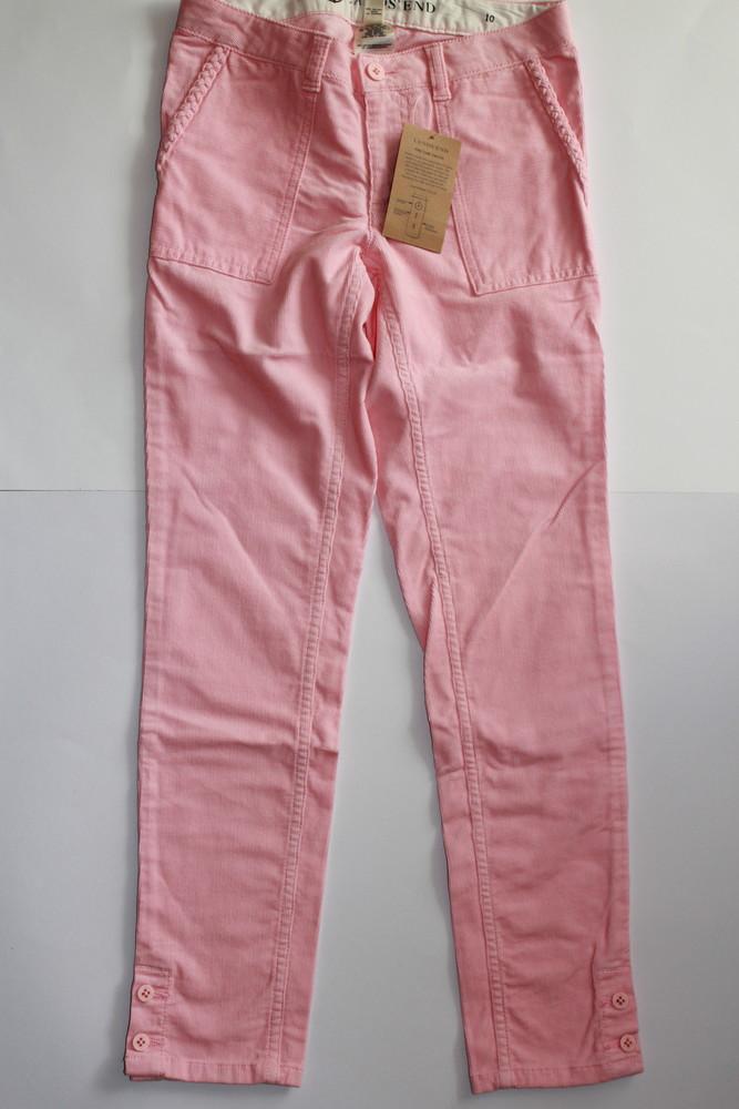 Вельветовые штаны брюки для девочек, lands´ end фото №1
