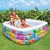 """Надувной бассейн для детей """"Аквариум"""" Intex 57471"""