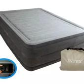 Надувная кровать Comfort-Plush high rise airbed 64418(203х153х56см)