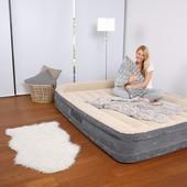Bestway велюр-кровать 67534 (203*152*43,см) с встроенным насосом 220V