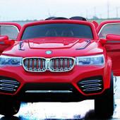 Детский электромобиль BMW X4 J-031 new с амортизаторами