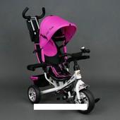 Велосипед трехколесный Best Trike eva 6588 Розовый