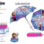Зонты детские, складные Холодное сердце Frozen и Щенячий патруль