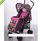 Детская коляска трость M 3425-8 (розовая)