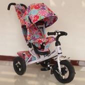 Велосипед трехколесный Tilly Trike T-363, надувные колеса