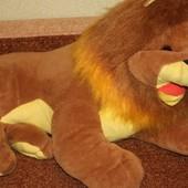 Мягкая игрушка Лев Наполеон 100см