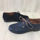 Туфли женские кожаные 33р.-21,5см.