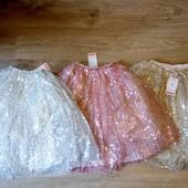 Восхитительная длинная юбка 110-170 на выпускной