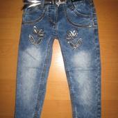 Детские джинсы для девочки 2-5 лет Beebaby (Бибеби)
