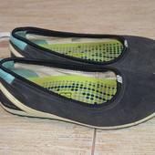 Ecco 39р балетки туфли кожаные Оригинал.