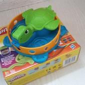 Забавная черепашка Play Doh (черепаха Плей До)!