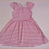 платье для девочки 4-6 лет H&M 104-116 см