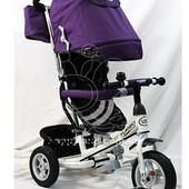 Детский трехколесный велосипед Turbo Trike M 3452-1fa,2fa,3fa,4fa