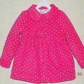 Флисовое, утеплённое пальто, Healthex 5Т, маломерит.