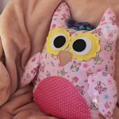 Подушка сова детская