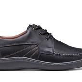 Туфли - комфорт Мужские Кожаные (035ч)