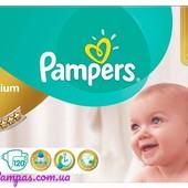 Подгузники (памперсы) Pampers Premium care Mega box