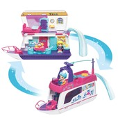 VTech Интерактивный домик корабль друзья flipsies sandy's house and ocean cruiser doll house