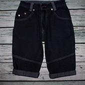 Джинсовые шорты мальчику на 7-8 лет, рост 122-128 см