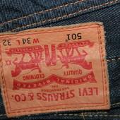 Брендовые  мужские  джинсы  W32 Levis оригинал