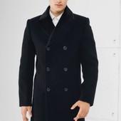 Пальто мужское, шерсть мериноса. Состояние идеальное - новое