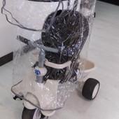 детский велосипед-4 в 1 Smart-Trike Recliner Stroller