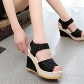 босоножки женские ХИТ продаж 2017 года! эспадрильи летние шлепки со шнуровкой сапоги сандали туфли