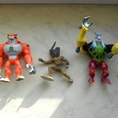 Три монстра. Фигурки сказочных героев. Мультяшки.