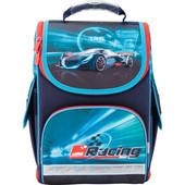 Рюкзак школьный каркасный Kite трансформер Racing night K17-500S-2