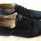 Замшевые туфли S*R Wear London р.41-26см.