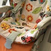 Матрасик - вкладыш в коляску. кресло. стульчик для кормления